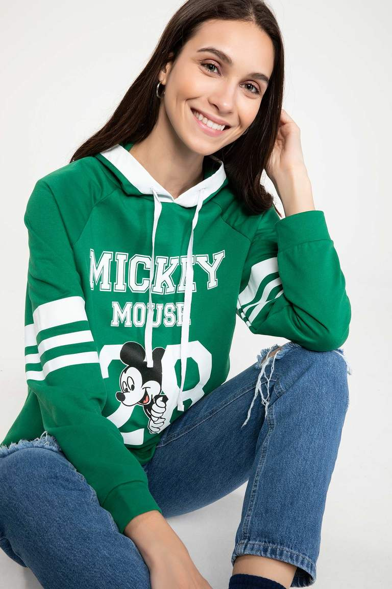 Mickey Mouse Lisanslı Sweatshirt