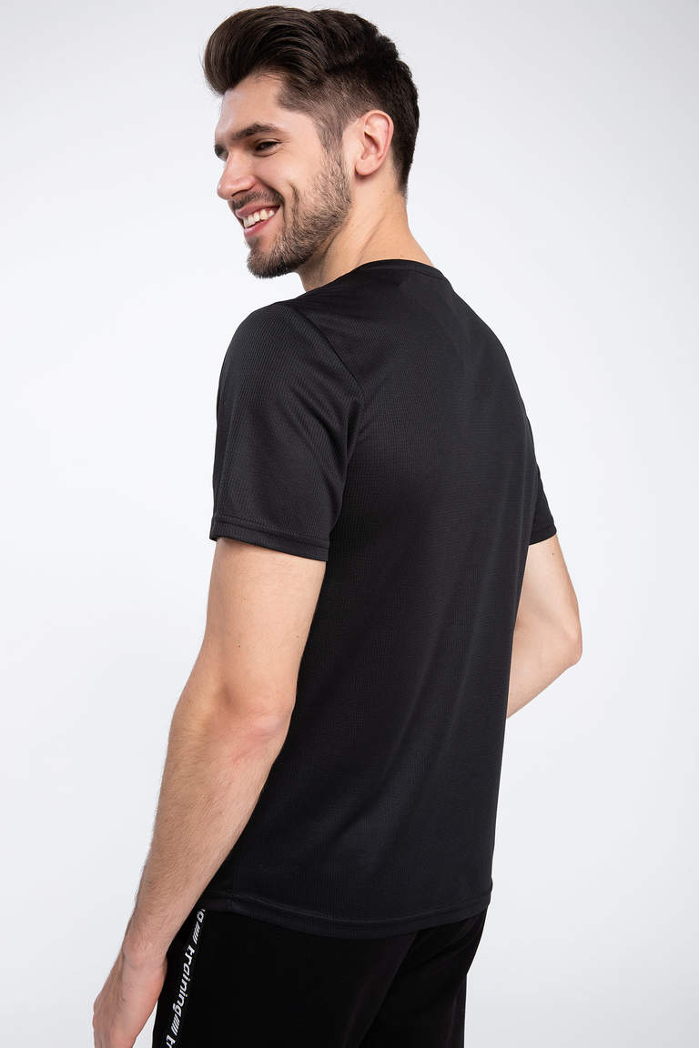 Slim Fit Sporcu T-shirt