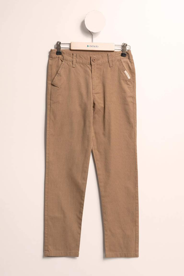 Gabardin Slim Fit Chino Pantolon