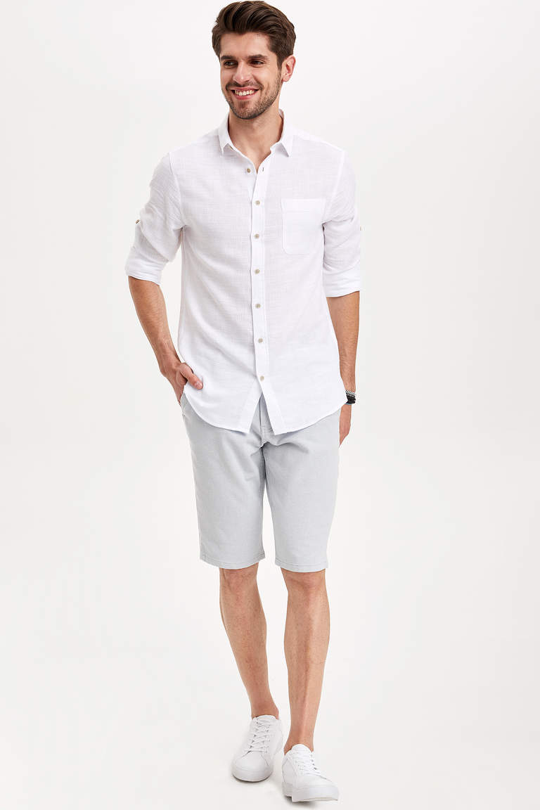 Regular Fit Bermuda