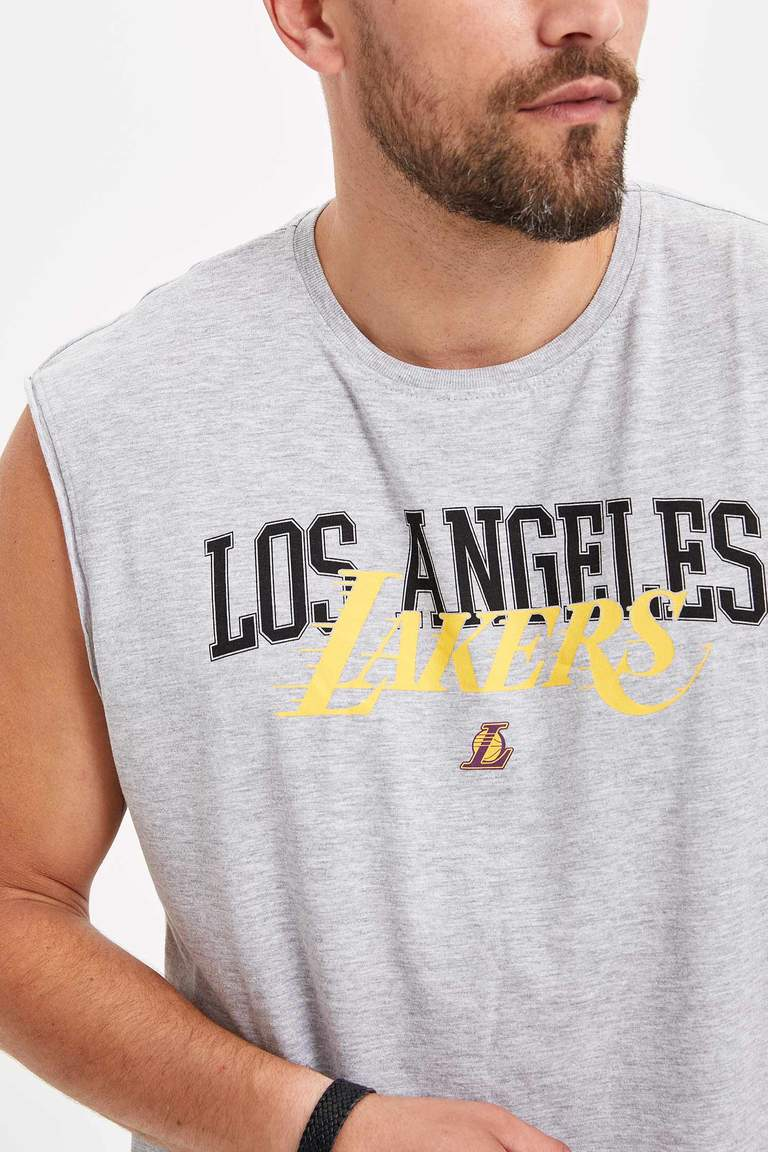 Lakers Lisanslı Kolsuz T-shirt