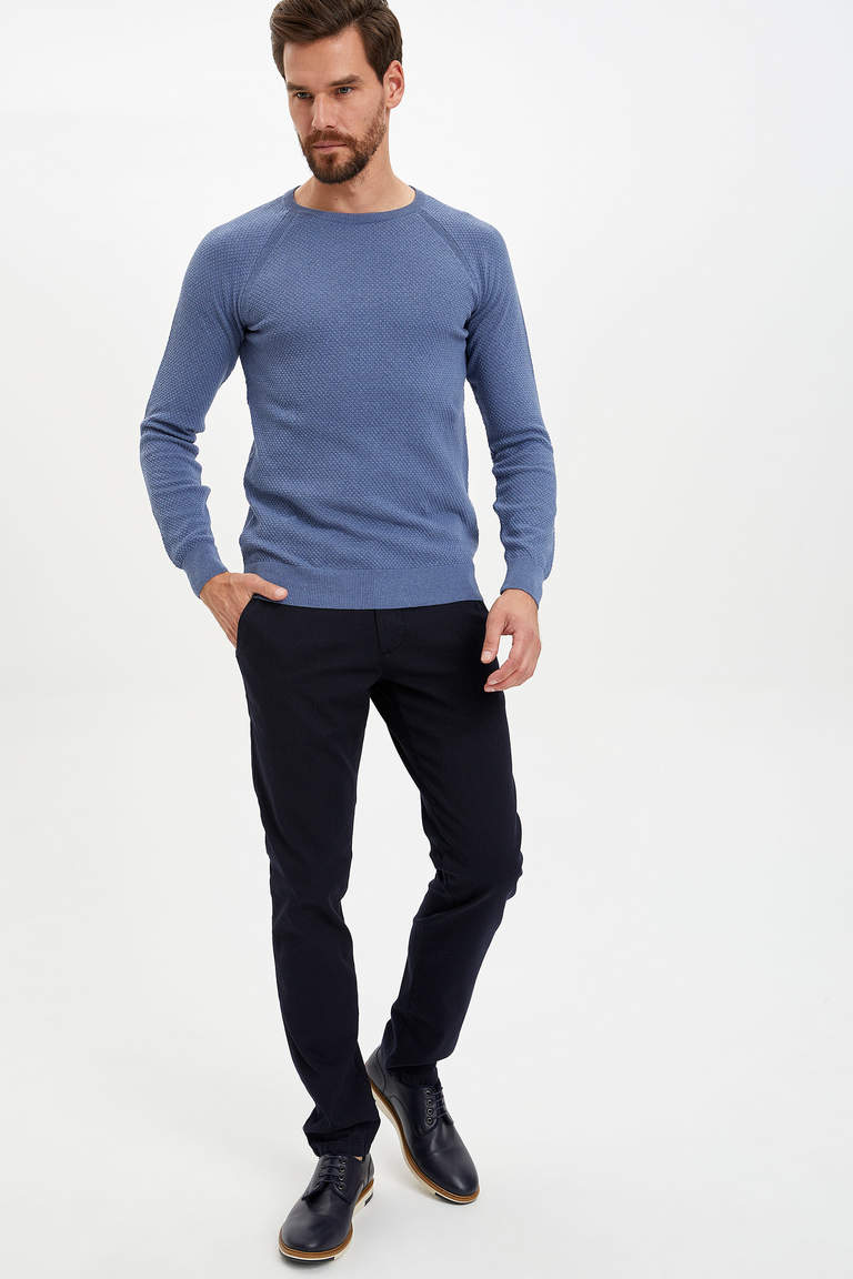 Basic Slim Fit Kazak