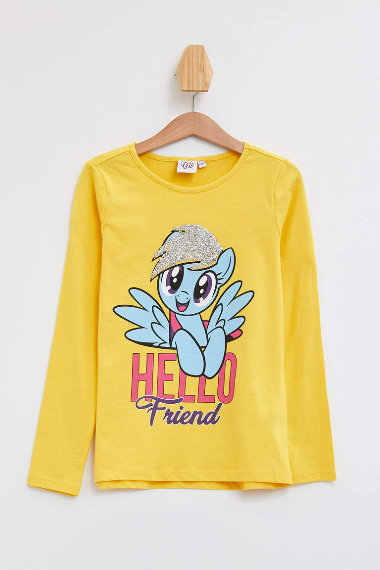 My Little Pony Lisanslı Uzun Kollu T-shirt