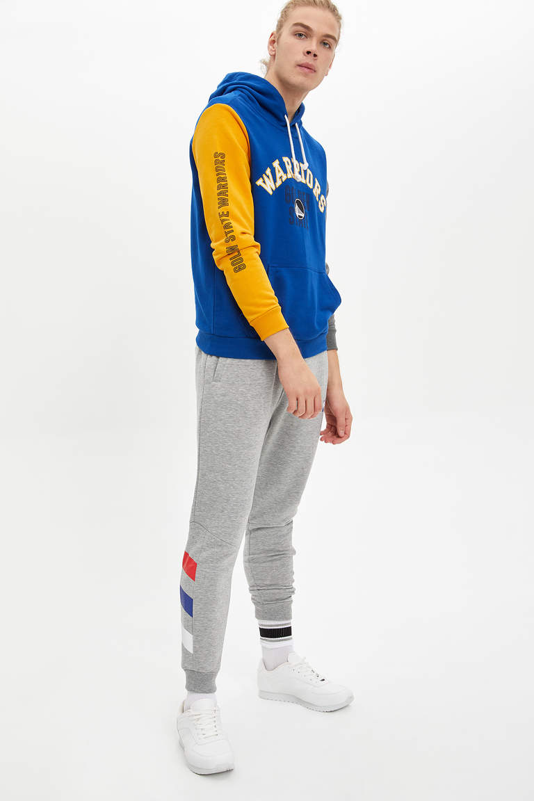 Golden State Warriors Lisanslı Kapüşonlu Sweatshirt