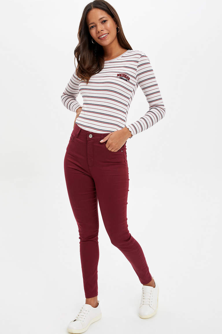 Anna Super Skinny Fit Pantolon