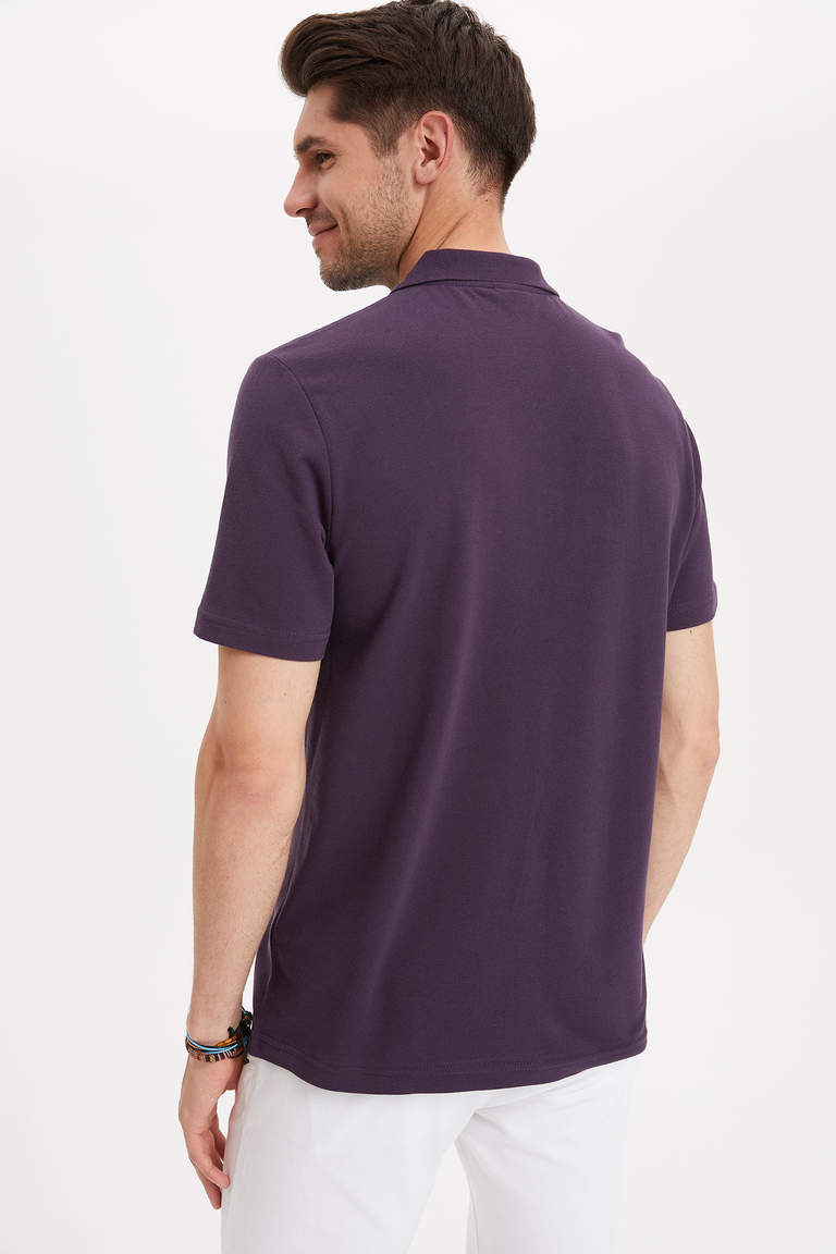 Polo Yaka Relax Fit T-shirt'