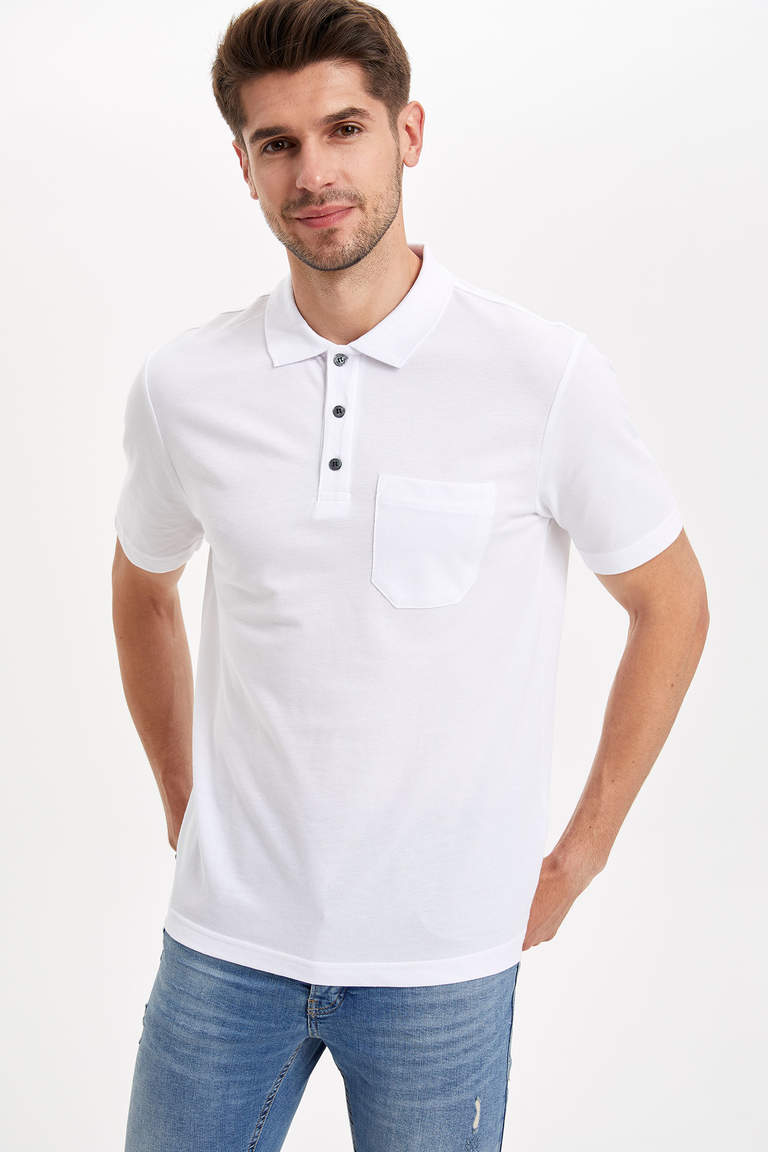 Relax Fit Polo T-shirt
