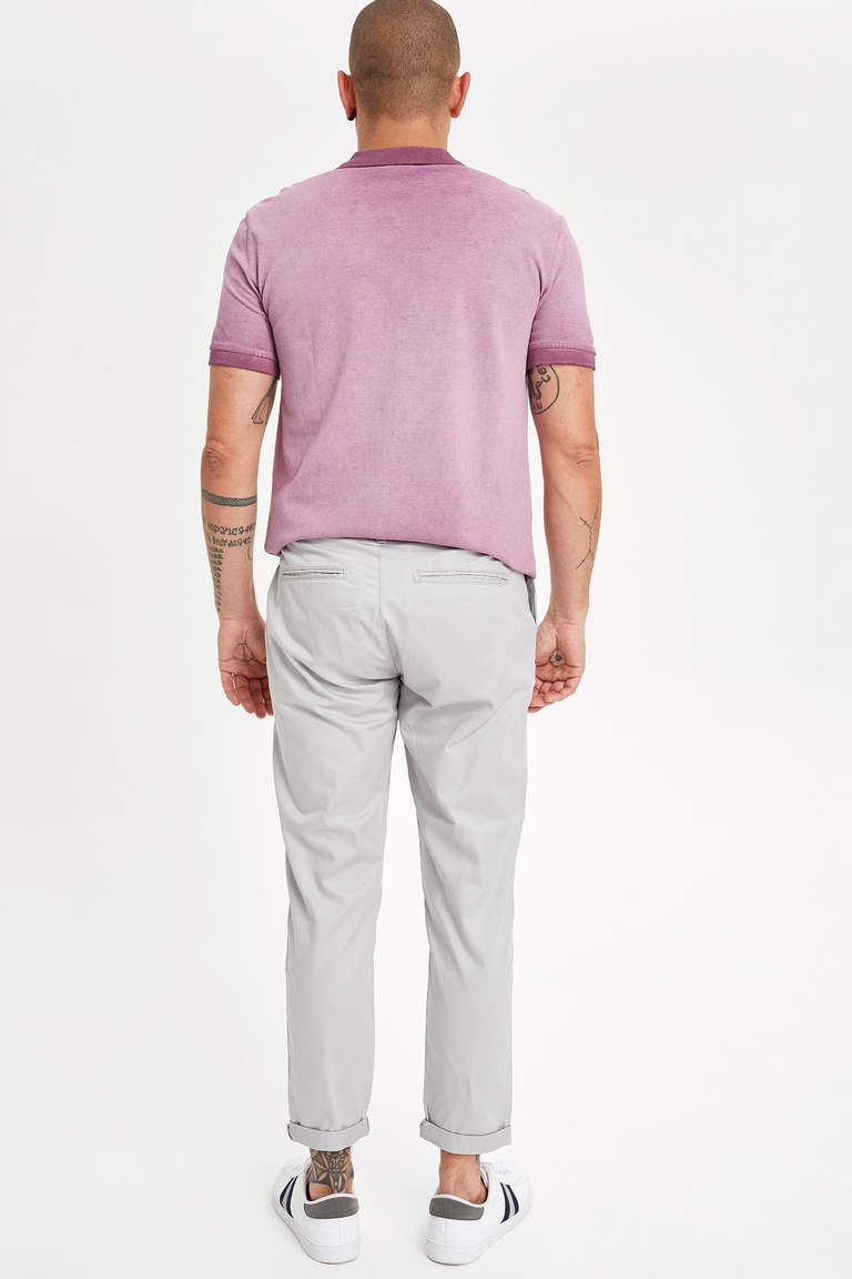 Tapered Fit Chino Pantolon