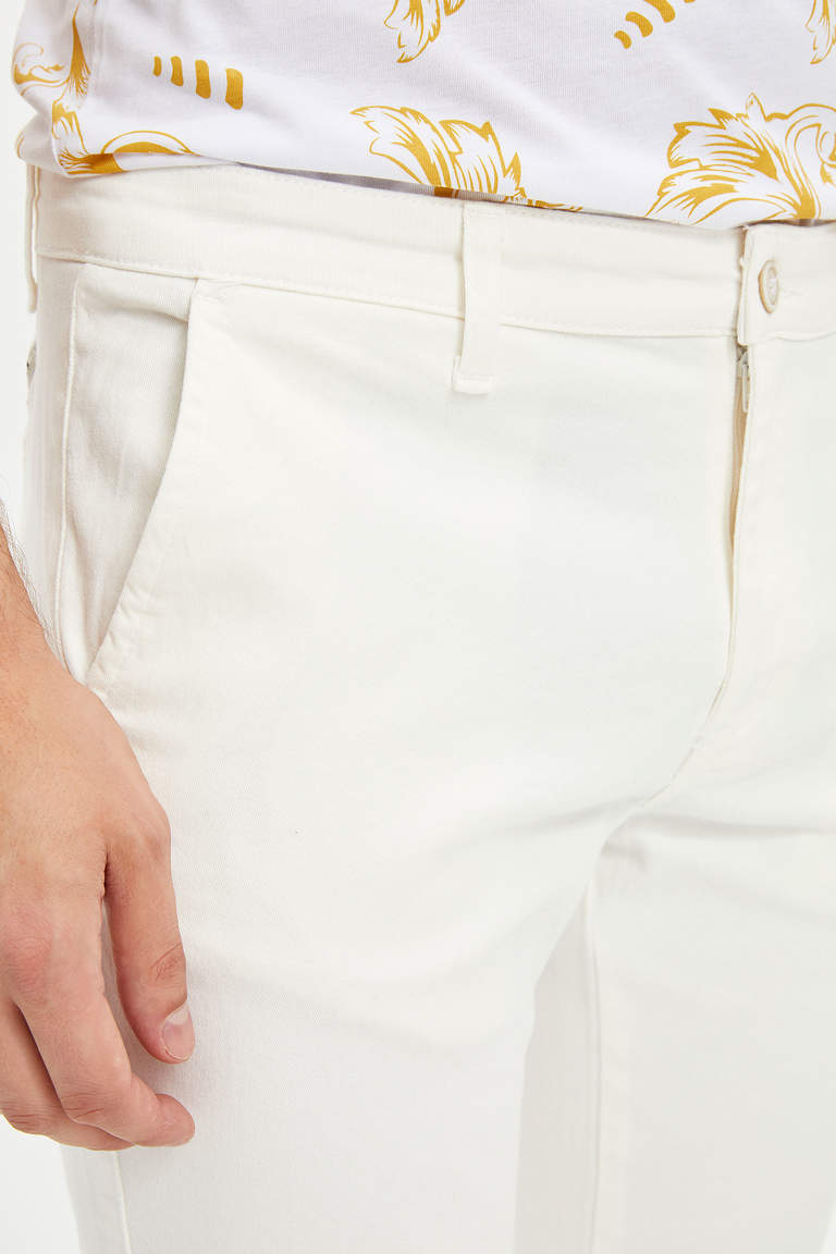 Slim Fit Chino Pantolon