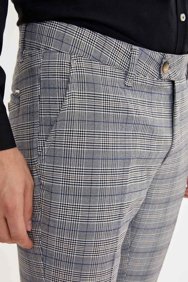 Modern Slim Fit Pantolon