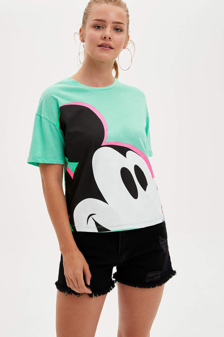 Mickey Mouse Lisanslı T-shirt
