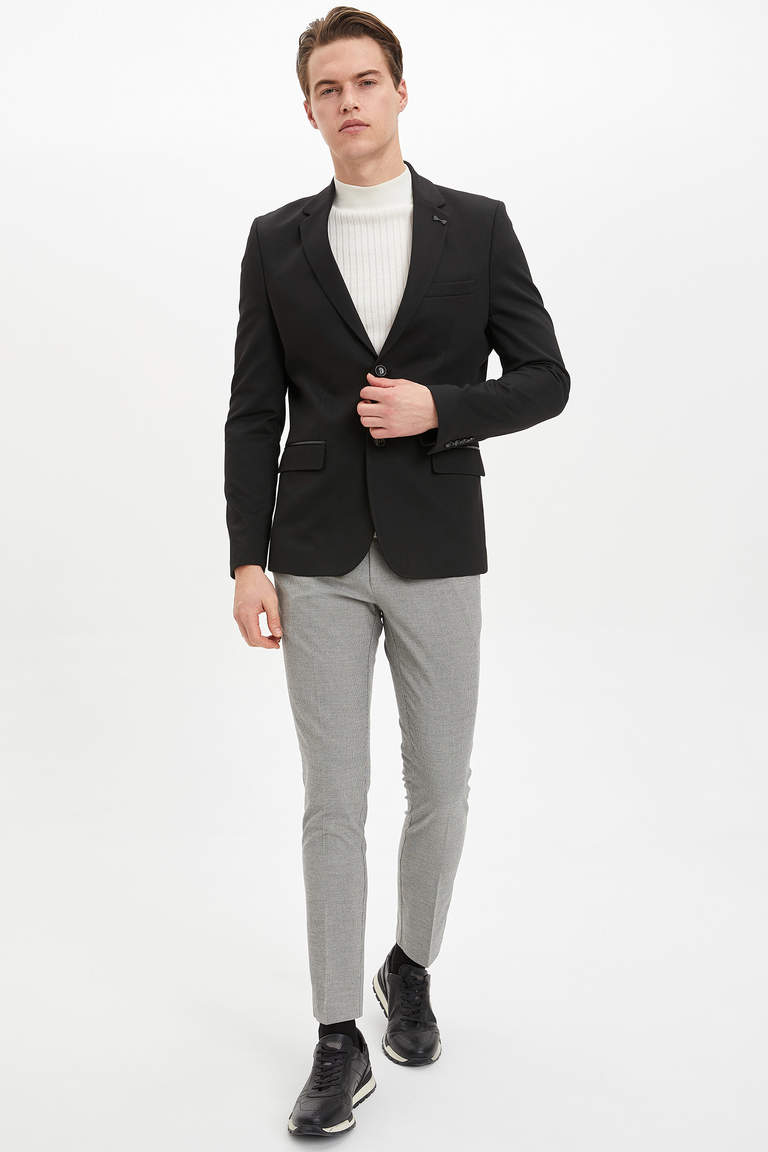 Tailored Fit Yün Pantolon