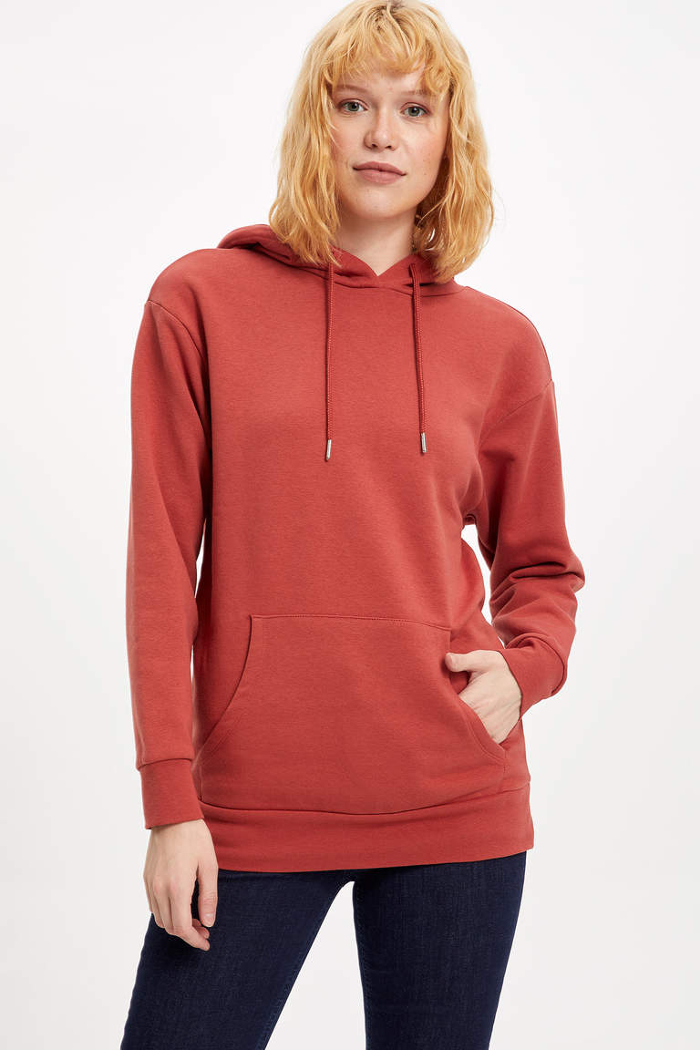 Kapüşonlu Regular Fit Sweatshirt