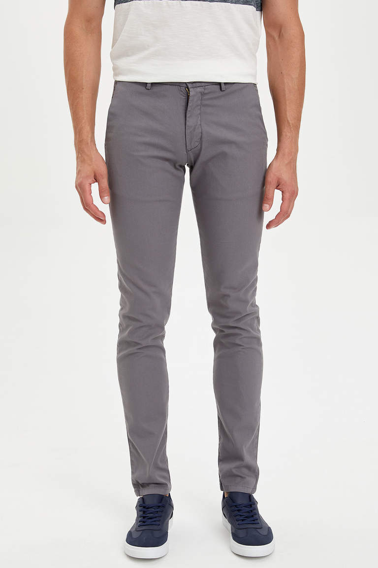 Slim Fit Basic Chino Pantolon
