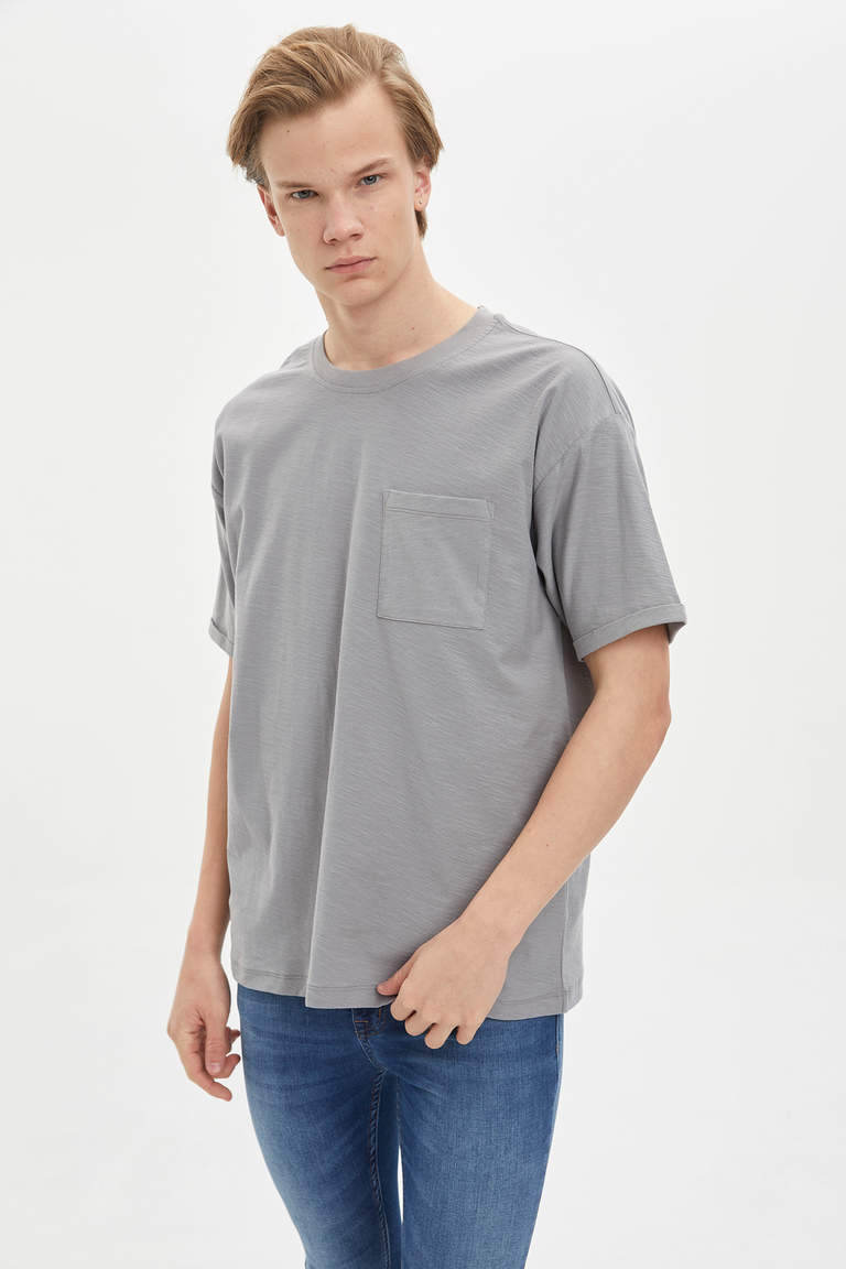 Basic Boxy Fit T-shirt