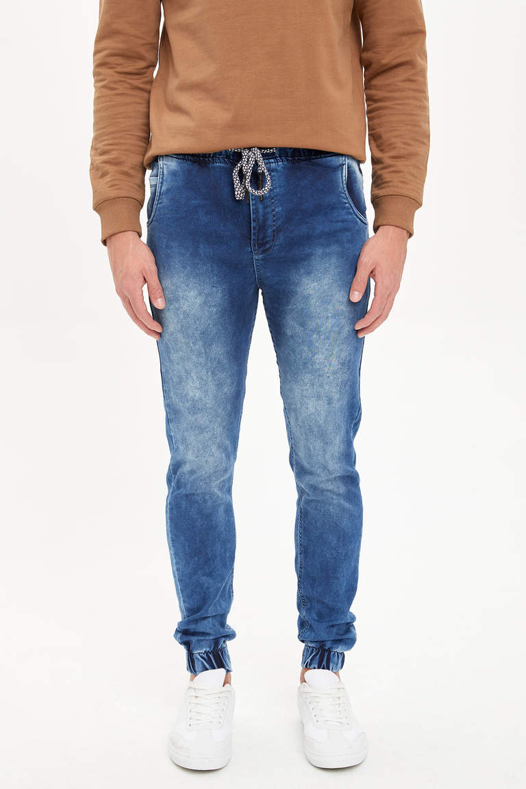 Slim Fit Jean Jogger Pantolon