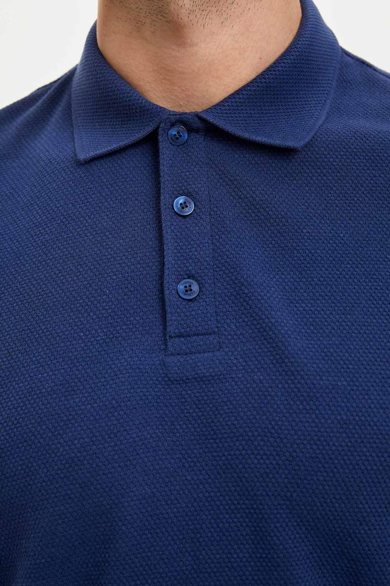 Slim Fit Basic Polo T-shirt