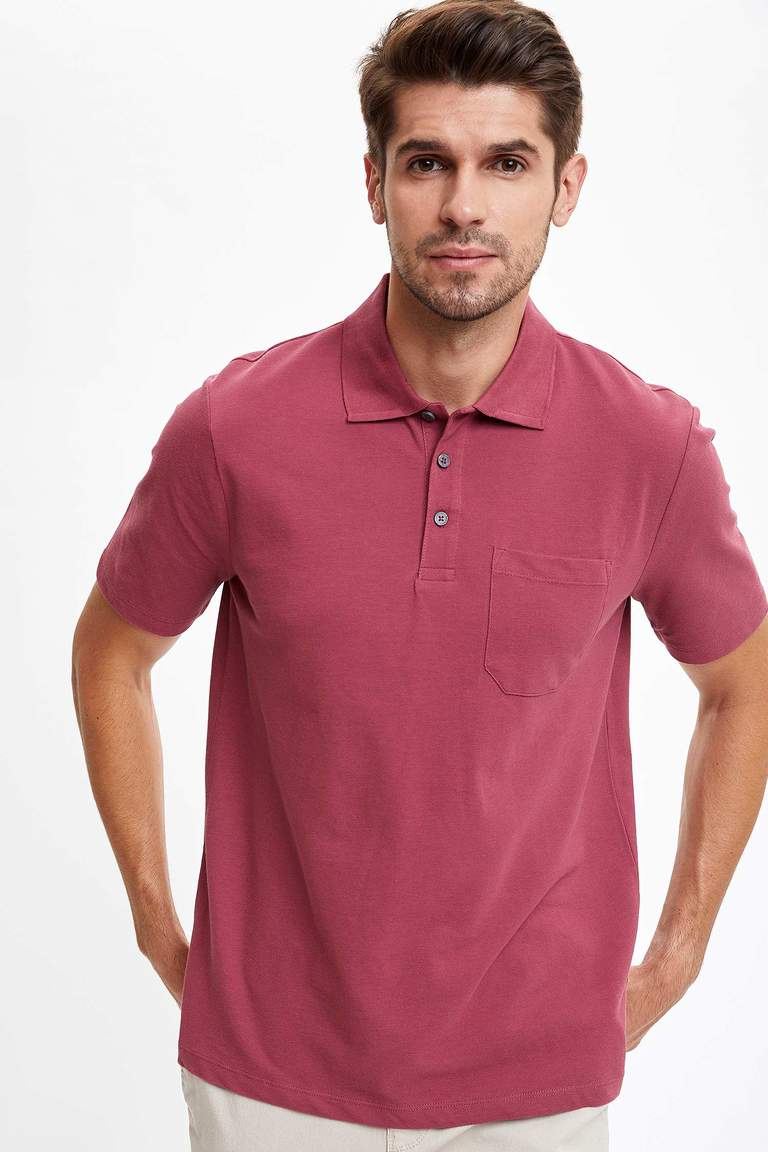 Polo Yaka Relax Fit Basic Polo Tişört
