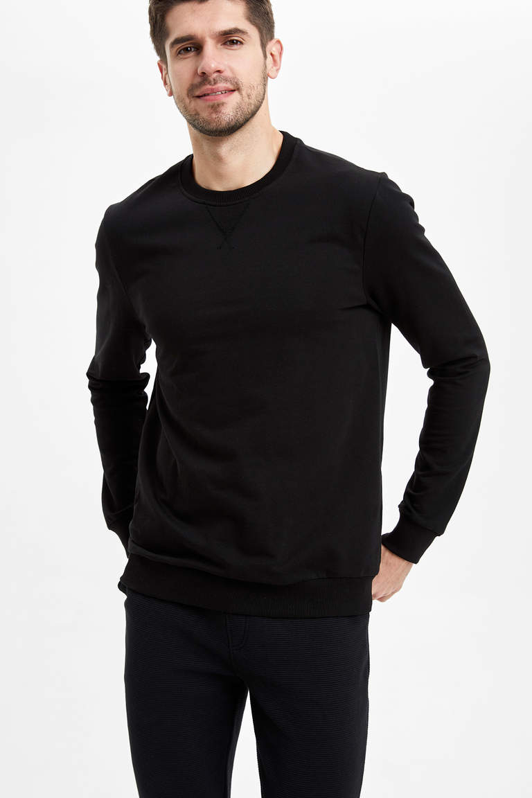Basic Regular Fit Sweatshirt