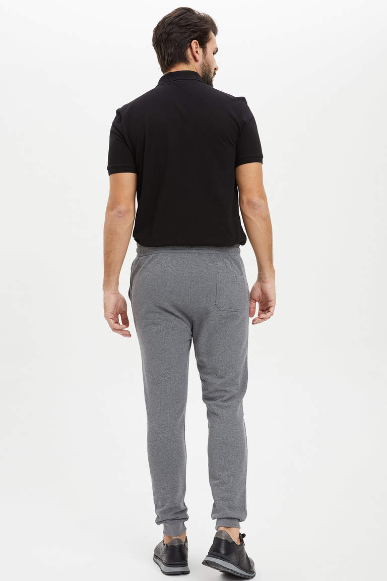 Slim Fit Basic Jooger Eşofman Altı
