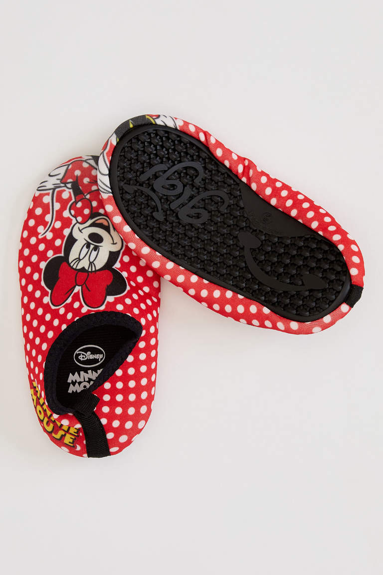 Minnie Mouse Lisanslı Slip On Ayakkabı