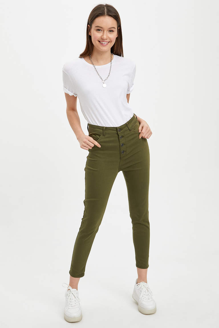 Anna Ankle Super Skinny Fit Pantolon