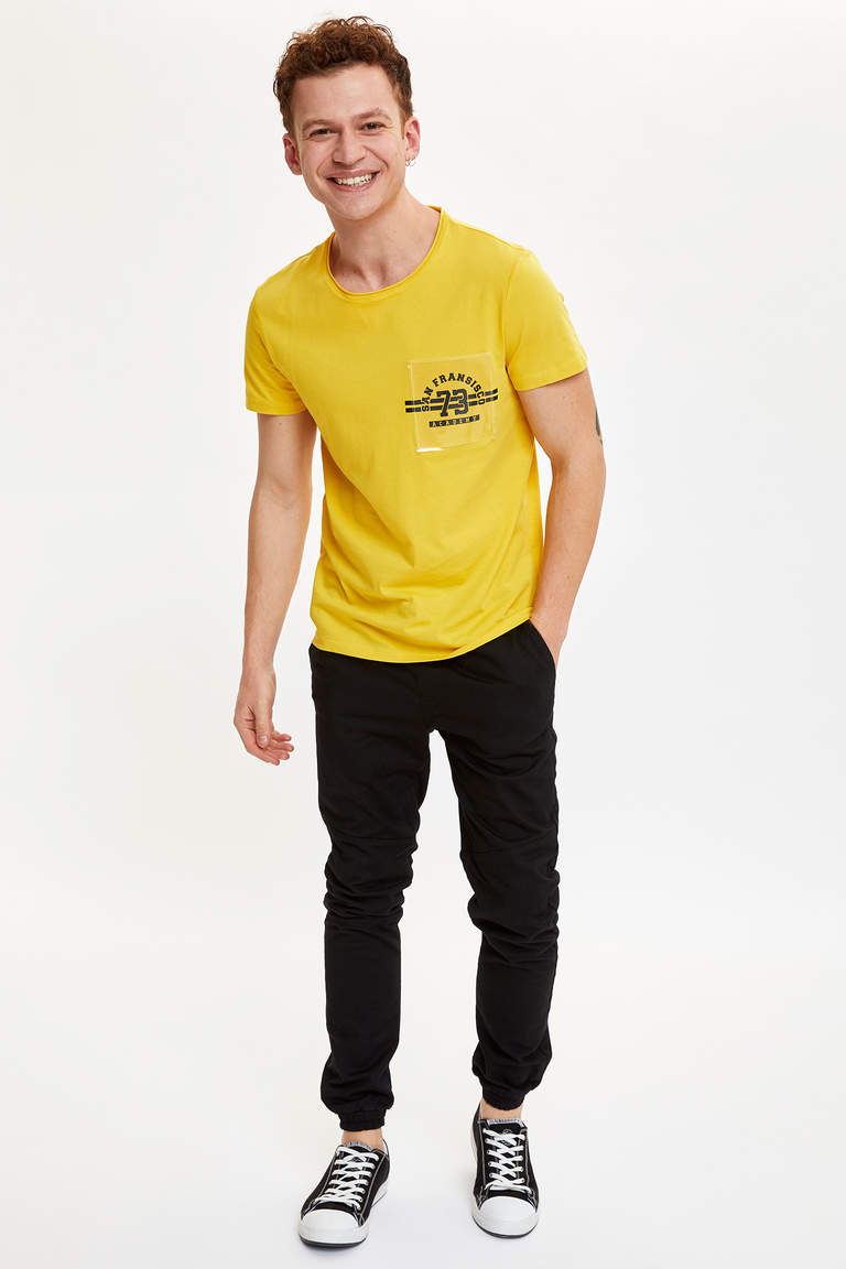 Baskılı Extra Slim Fit T-shirt