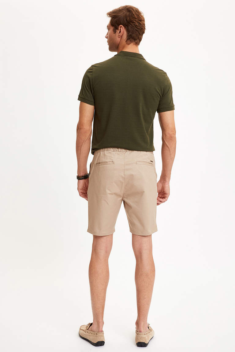 Regular Fit Chino Bermuda