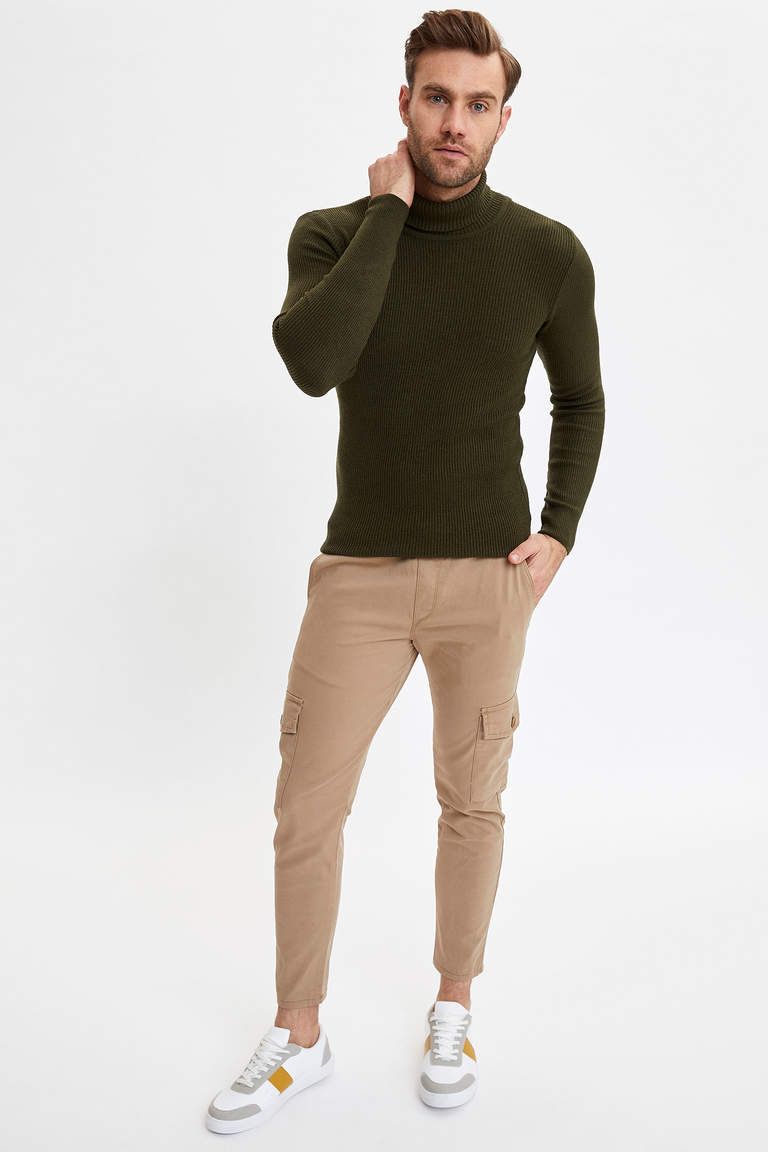 Slim Fit Triko Kazak