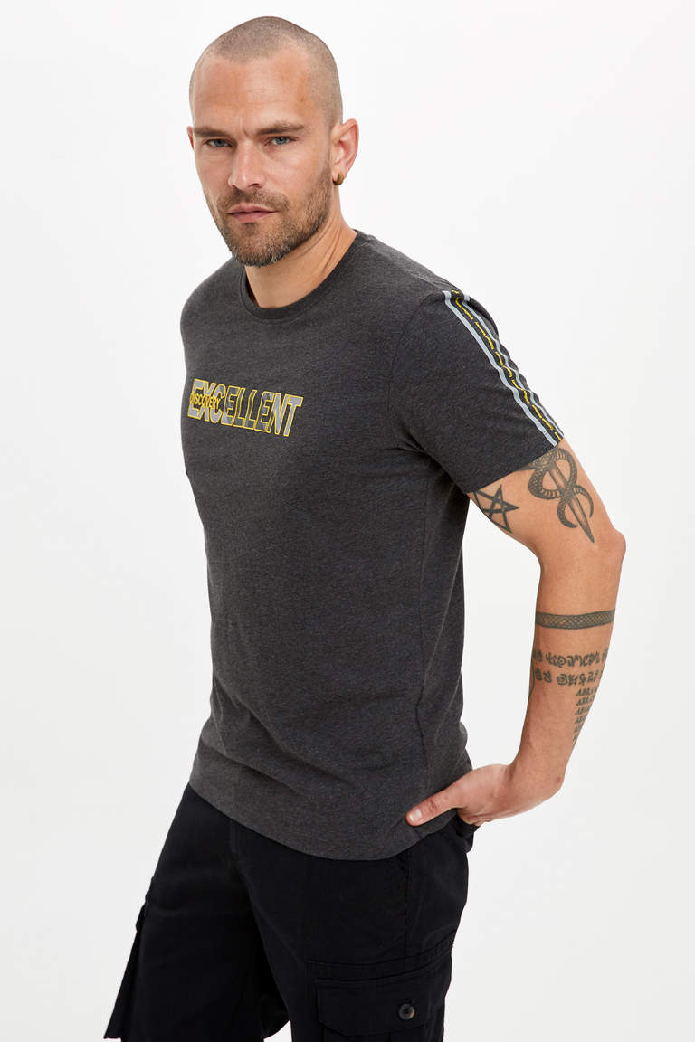 Baskılı Regular Fit T-shirt