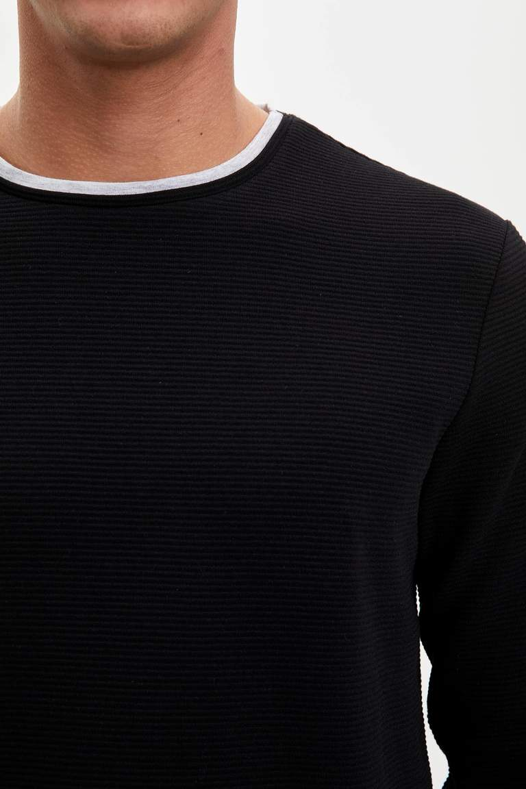 Uzun Kol Basic Sweatshirt