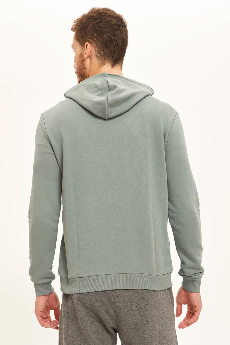 Kapüşonluı Slim Fit Sweatshirt