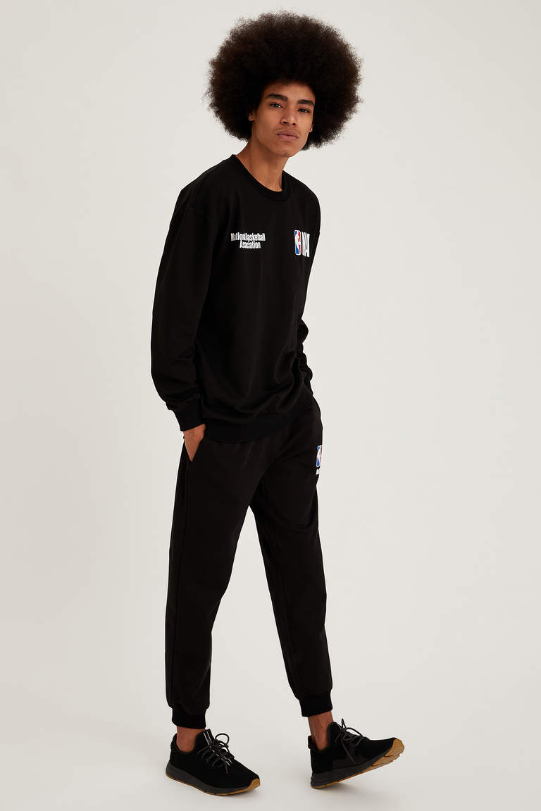 NBA Lisanslı Unisex Regular Fit Jogger Eşofman Altı