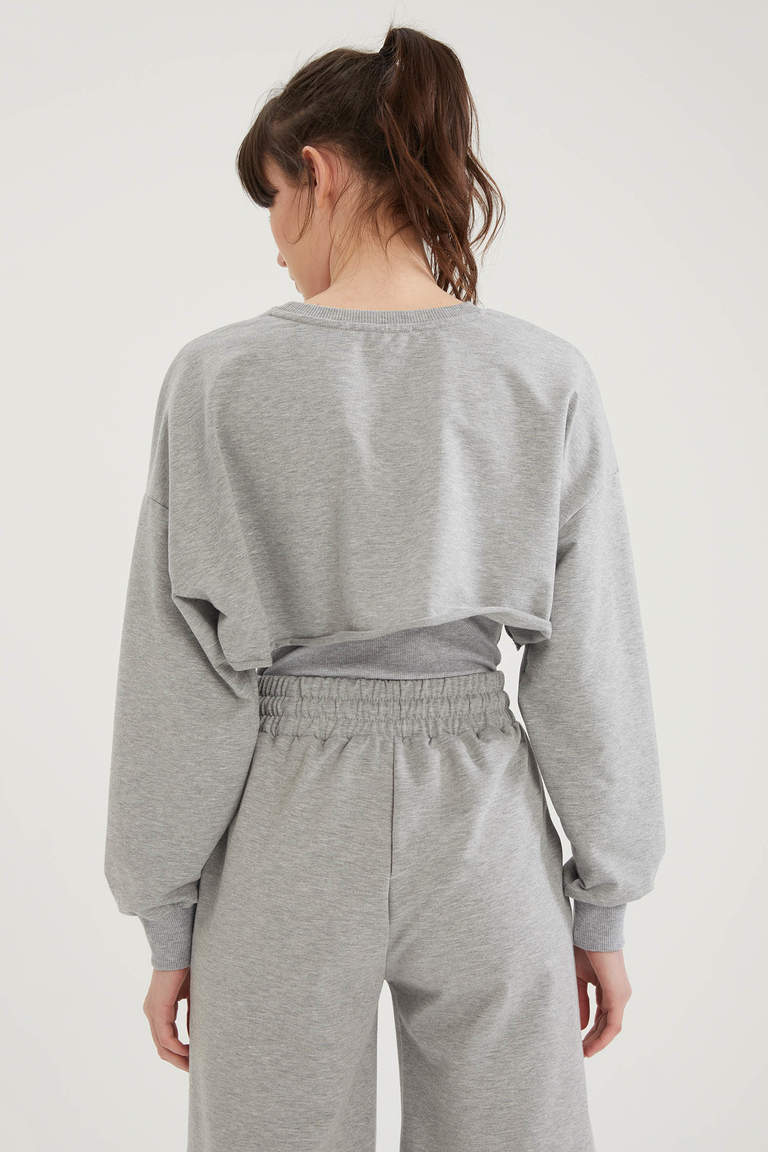 Coool Bolero Oversize Fit Sweatshirt