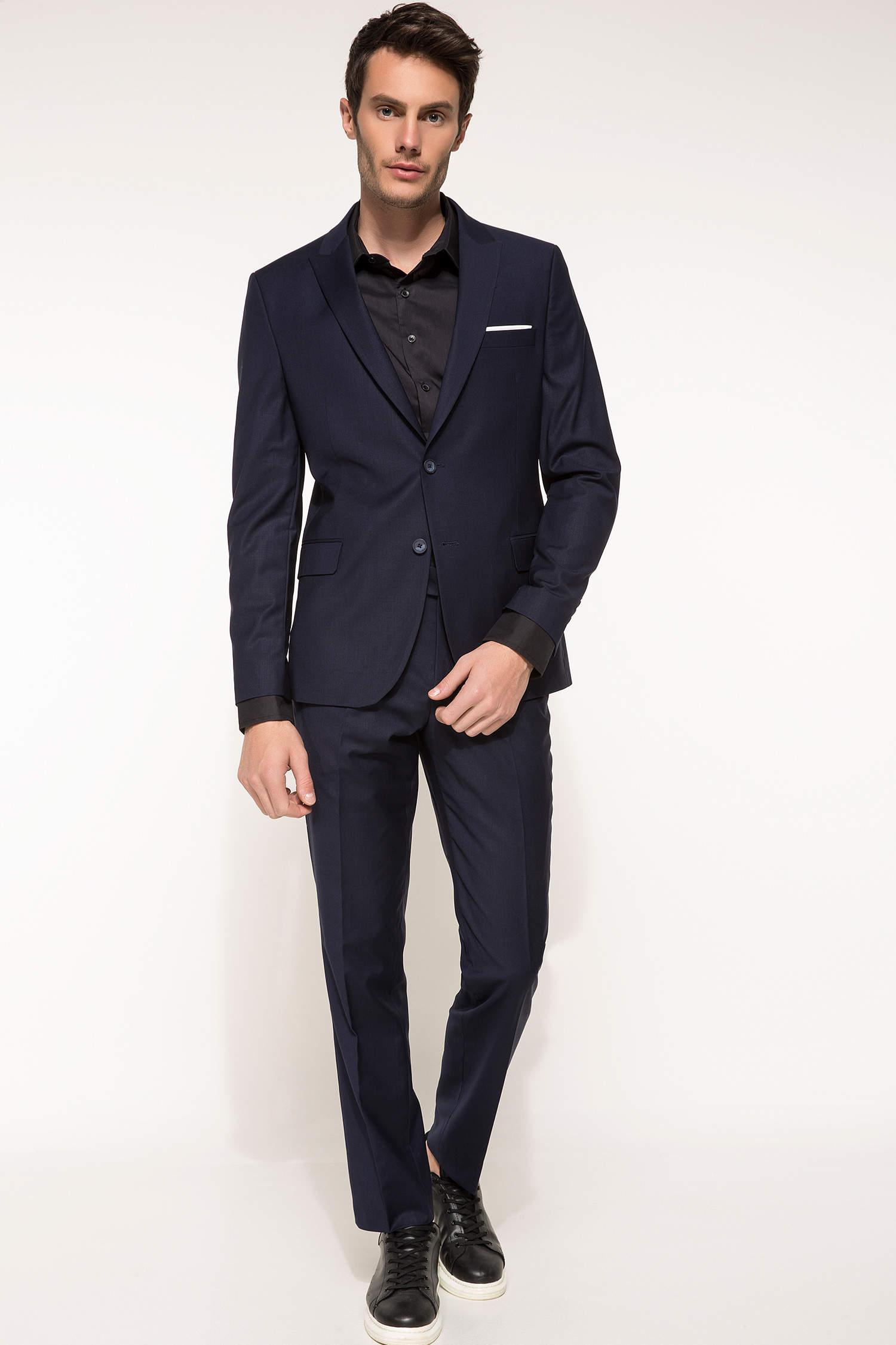 b448d68411f60 Lacivert Erkek Takım Elbise 809593 | DeFacto